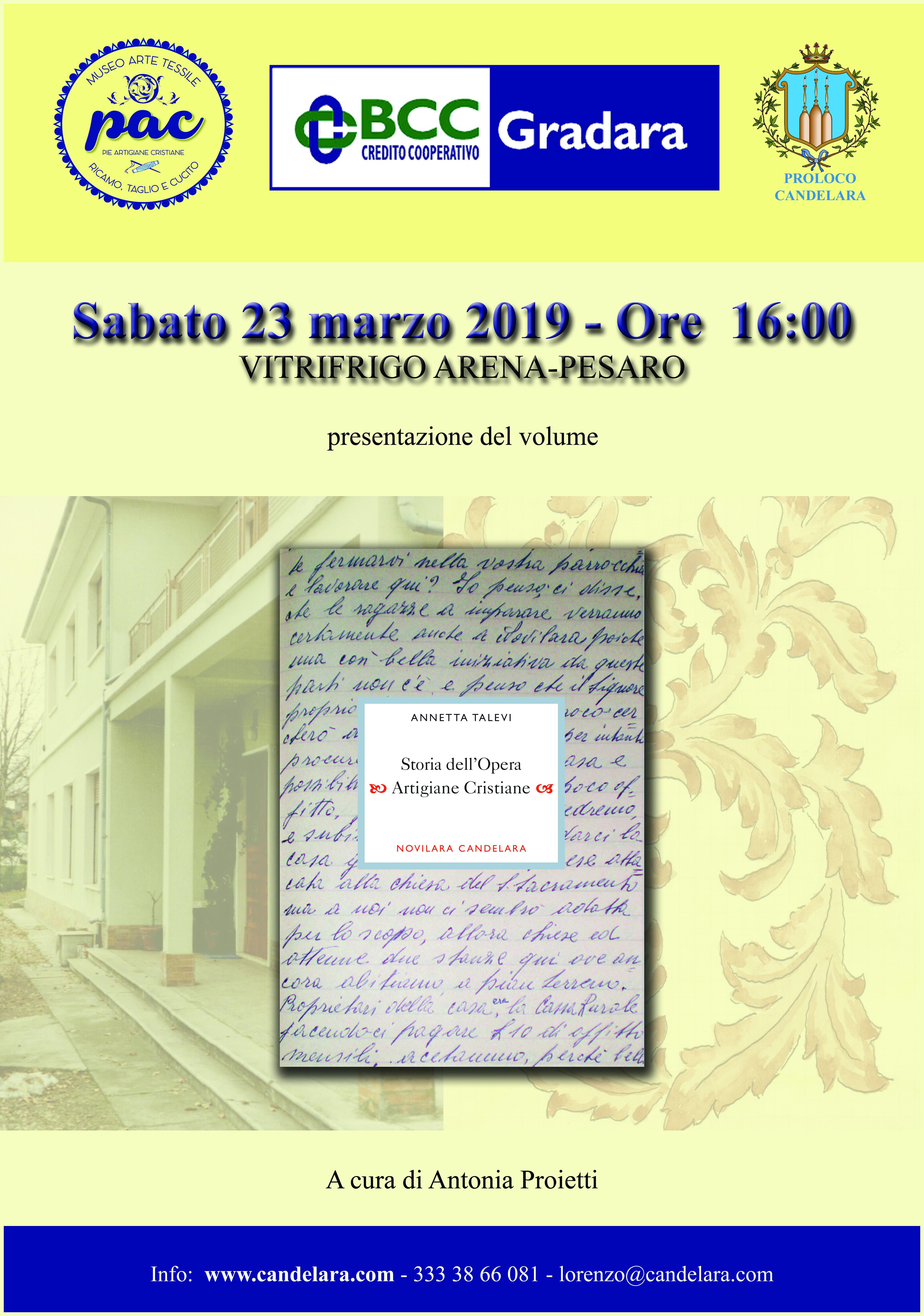 """a627519ea24a Storia dell Opera Artigiane Cristiane. """""""